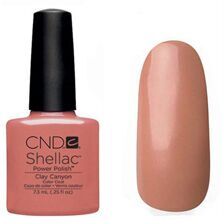 Shellac CND (шеллак) clay canyon 7,5 мл.