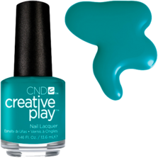 CND creative play # 432 (head over teal), 13,6 мл