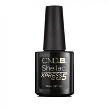 CND  топ top coat  xpress-5 15ml