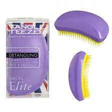 Tangle Teezer Расческа Salon Elite NEON BRIGHTS VIOLET-YELLOW