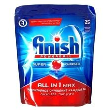 FINISH All in1 MAX Super&Charged Таблетки 25шт.
