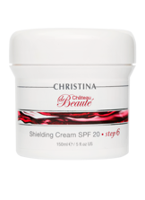 Chateau de Beaute Shielding Cream SPF 20 - (ШАГ 6): Защитный крем SPF 20, 150 мл