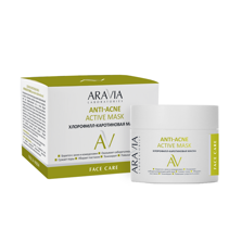 """ARAVIA Laboratories"" Хлорофилл-каротиновая маска Anti-Acne Active Mask, 100 мл НОВИНКА"