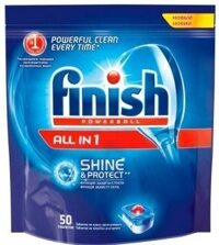 FINISH All in1 Shane&Protect Таблетки 50шт