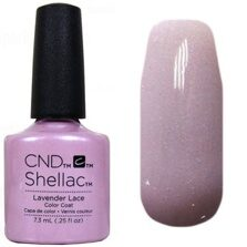 Shellac CND (шеллак) lavender lace 7,5 мл.