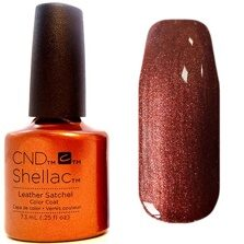 Shellac CND (шеллак) Leather Satchel 7,5 мл